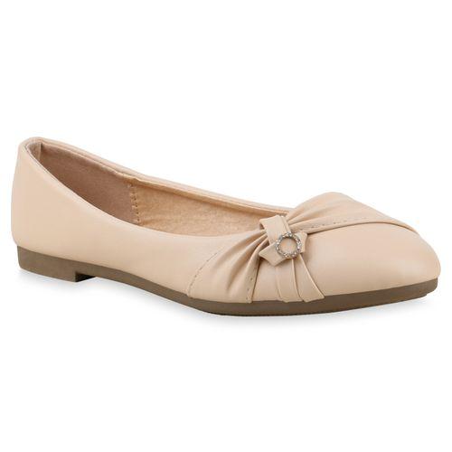 Damen Klassische Ballerinas - Nude