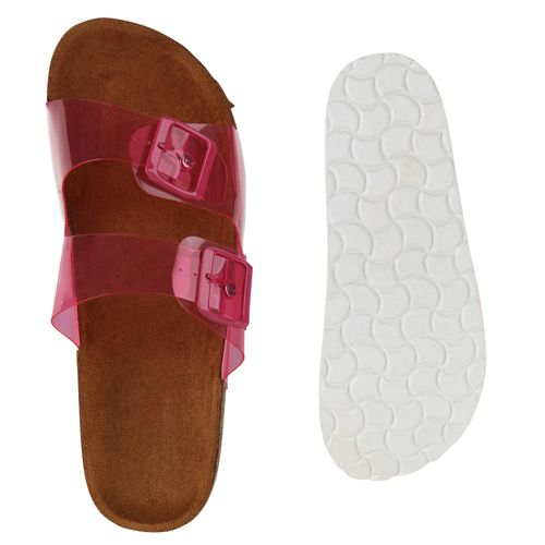 Rot Sandalen Pantoletten Damen Sandalen Damen q6xawPP8z