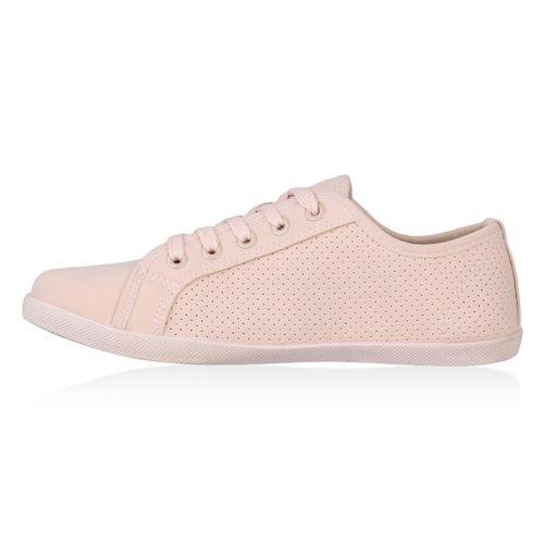 Sneaker Low Damen Damen Rosa Sneaker xY8HpH