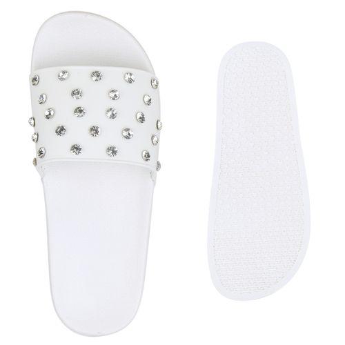 Sandalen Sandalen Pantoletten Pantoletten Damen Damen Sandalen Weiß Weiß Pantoletten Sandalen Pantoletten Damen Weiß Damen wRtA0nqx