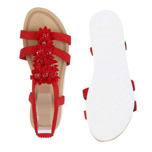 Damen Keilsandaletten Rot Damen Sandaletten Keilsandaletten Rot Sandaletten rvUrwq