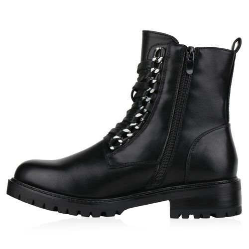 Billig Damen Schuhe Damen Stiefeletten in Schwarz 8315903401