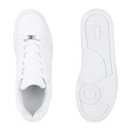 Herren Sportschuhe Basketballschuhe - Weiß
