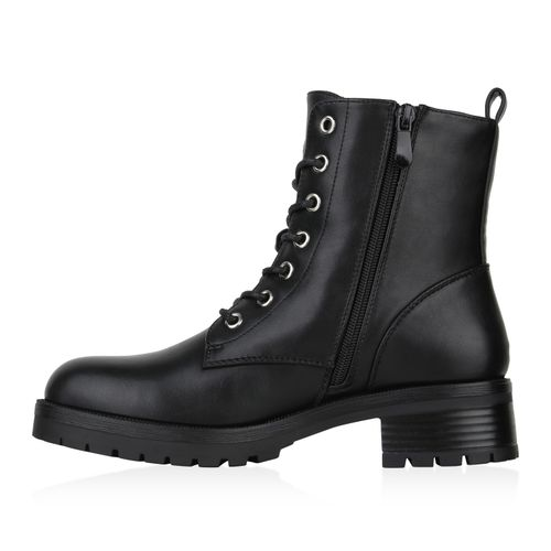 Billig Damen Schuhe Damen Stiefeletten in Schwarz 8318583401