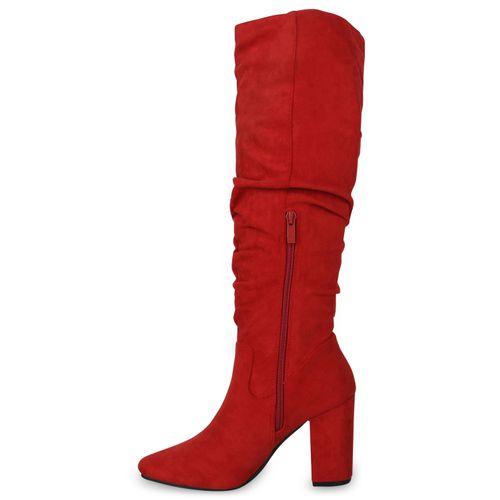 Damen Klassische Stiefel - Rot