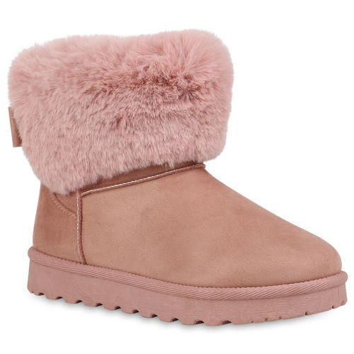 Billig Damen Schuhe Damen Stiefeletten in Rosa 8251203369