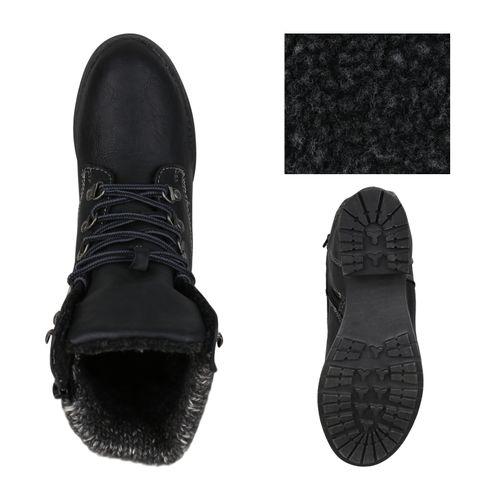 Billig Damen Schuhe Damen Stiefeletten in Schwarz 8326713401