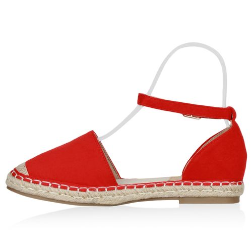 Billig Damen Schuhe Damen Sandalen in Rot 832900523
