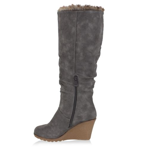 Damen Stiefel Klassische Stiefel - Dunkelgrau