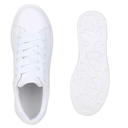 Billig Damen Schuhe Damen Sneaker in Weiß 833717686