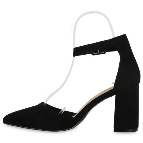 Billig Damen Schuhe Damen Pumps in Schwarz 8343313401