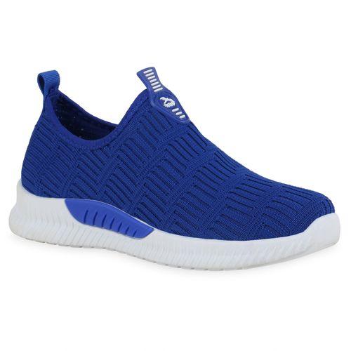 Damen Sportschuhe Slip Ons - Blau