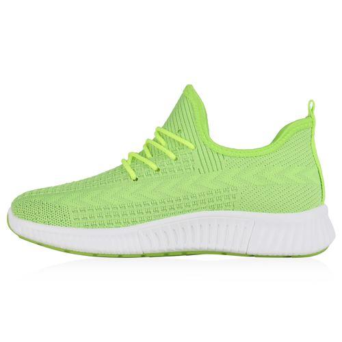 Damen Sportschuhe Laufschuhe - Neon Grün