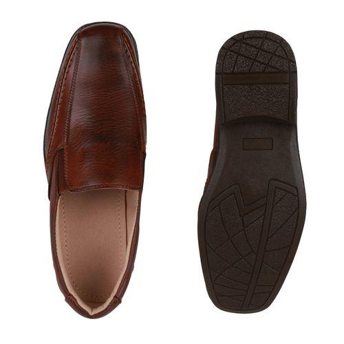 Herren Slippers Slip Ons - Hellbraun 7812164548