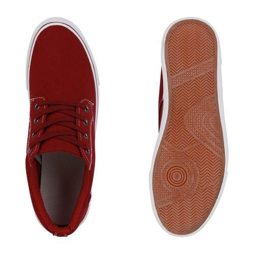 Herren Sneaker low - Burgund
