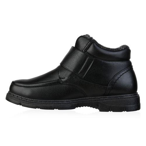 Herren Winter Boots - Schwarz