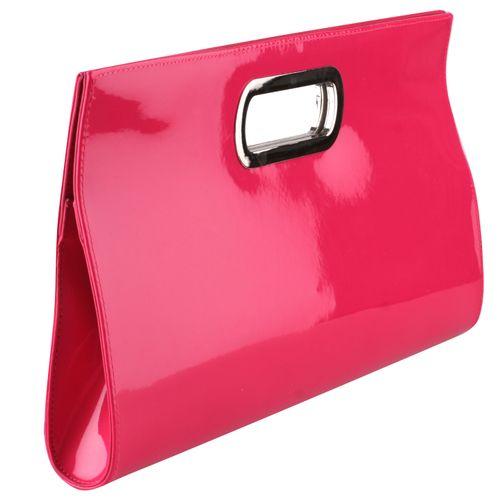Damen Clutch - Pink