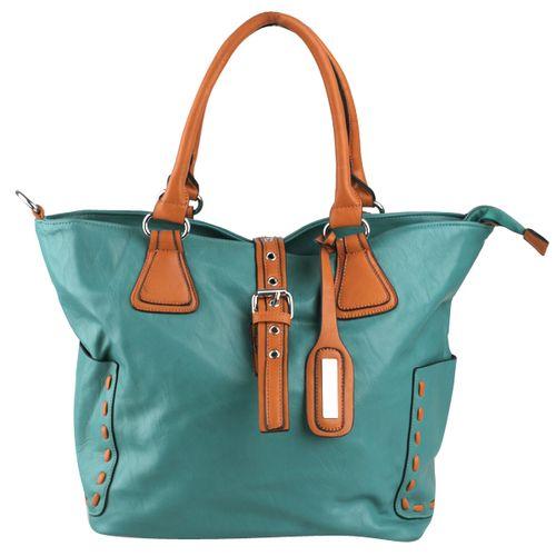 Damen Shopper - Grün