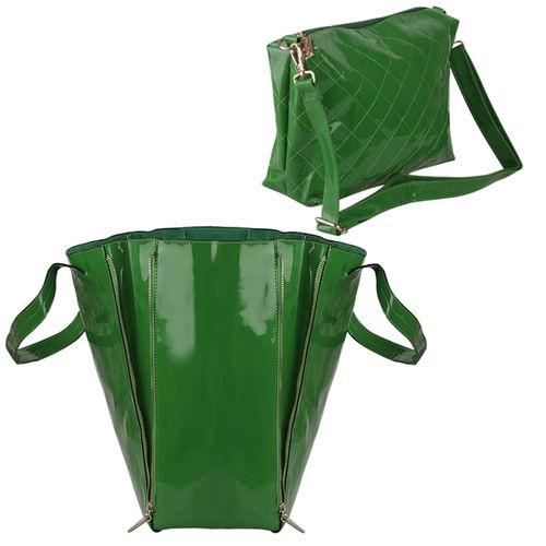 Damen Handtasche - Grün