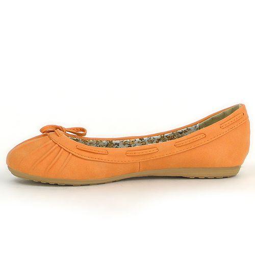 Damen Ballerinas Klassische Ballerinas - Orange