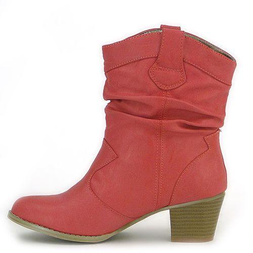 Damen Stiefeletten Klassische Stiefeletten - Rot