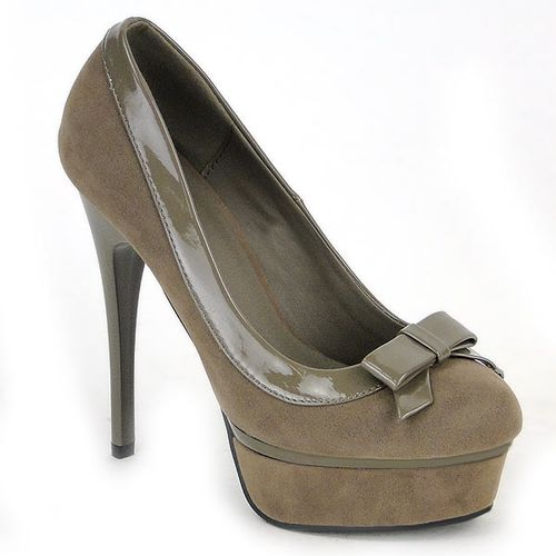 Damen Pumps Plateau Pumps - Khaki