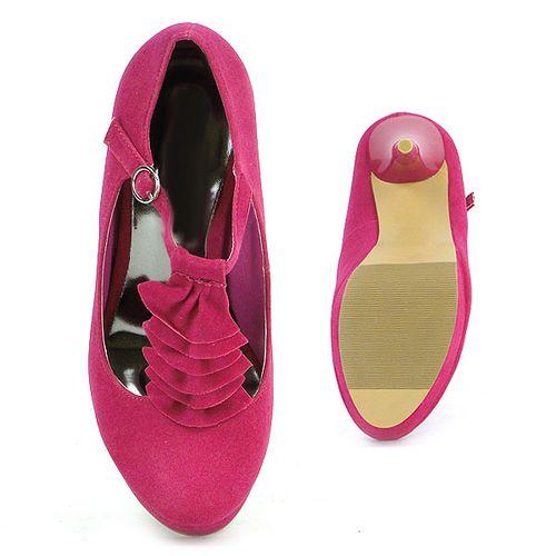 Damen Pumps Mary Janes - Pink