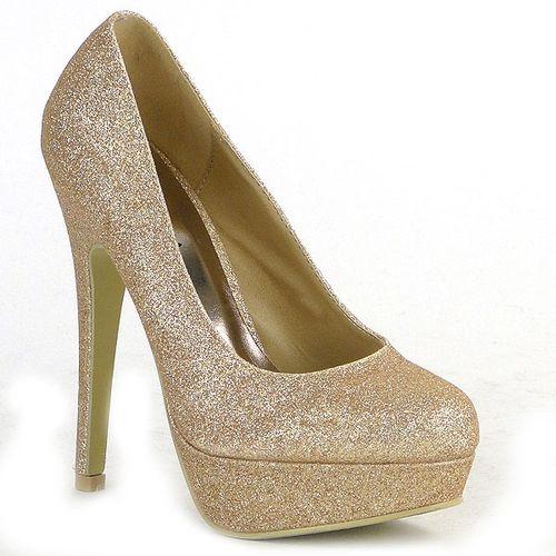 af6253ca2194e3 Damen Pumps in Gold (93912-155) - stiefelparadies.de