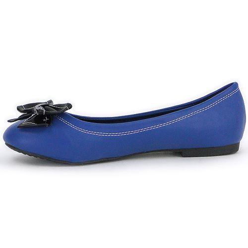 Damen Ballerinas Klassische Ballerinas - Blau Schwarz