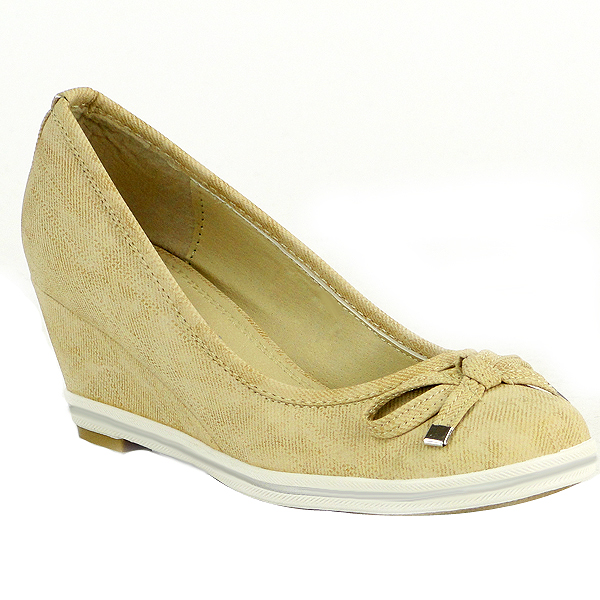 Damen Pumps High Heels - Beige