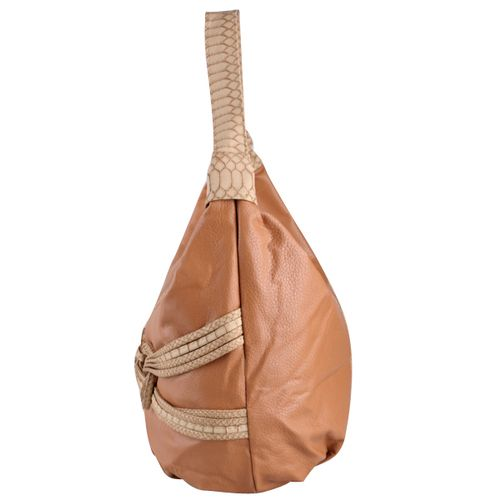 Damen Schulter Tasche - Hellbraun
