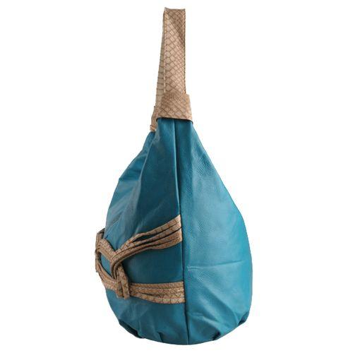Damen Schulter Tasche - Blau