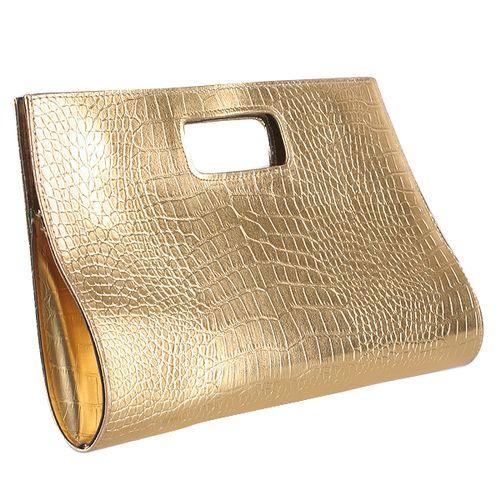 Damen Clutch - Gold