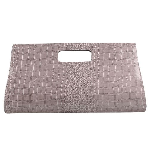 Damen Clutch - Grau