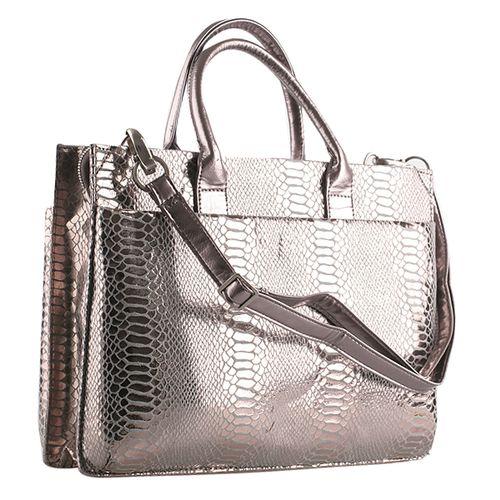 Damen Schulter Tasche - Grau