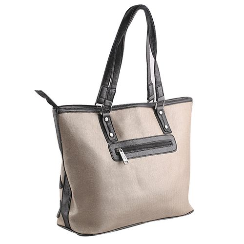 Damen Shopper - Grau Braun