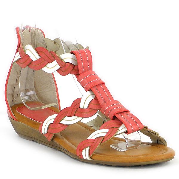 Damen Sandalen Komfort Sandalen - Rot