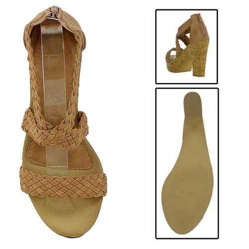 Damen Sandaletten Ankle Boots - Pink