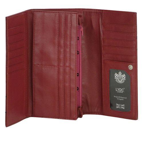 Damen Geldbörse - Rot