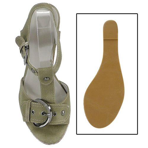 Damen Pumps Ankle Boots - Khaki