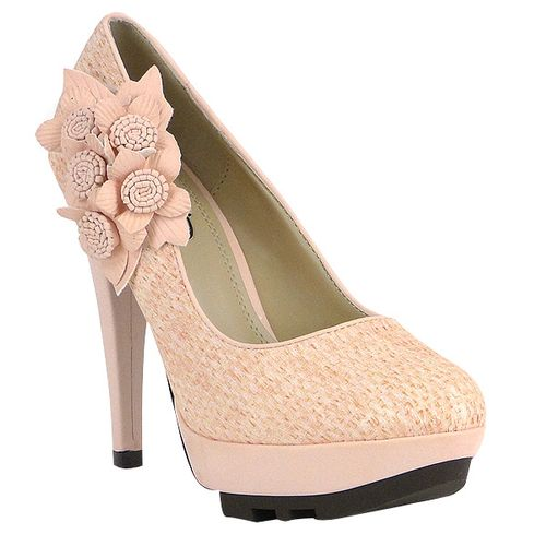 Damen Pumps Plateau Pumps - Rosa - Palermo