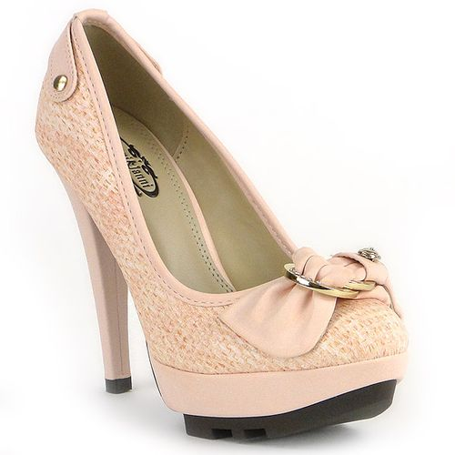 Damen Pumps Plateau Pumps - Rosa - Blere