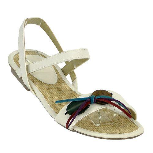 Damen Sandalen High Heels - Weiß