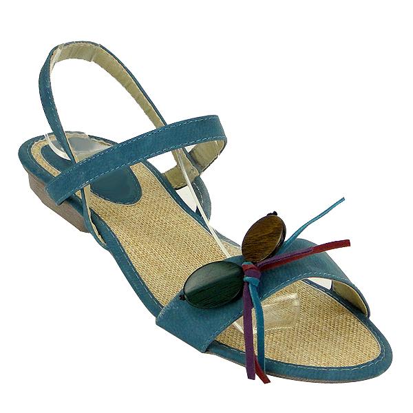 Damen Sandalen High Heels - Blau