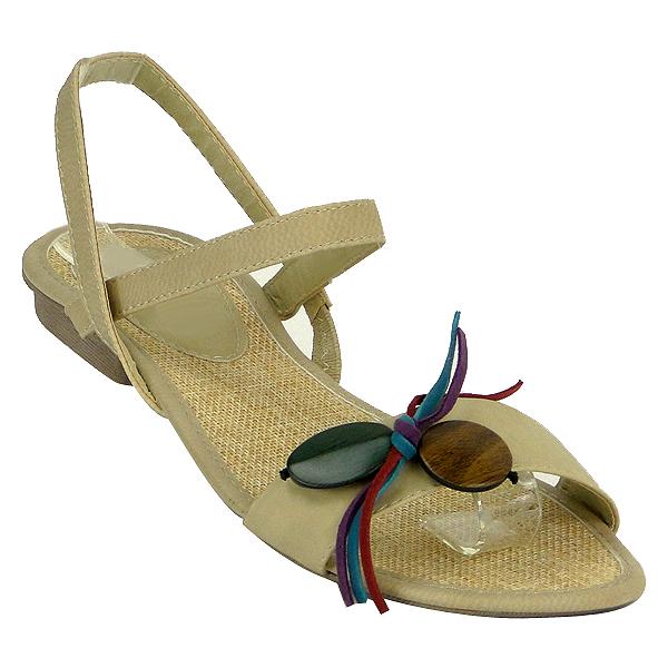 Damen Sandalen High Heels - Beige