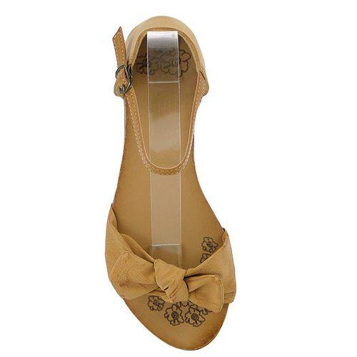 Damen Sandalen Ankle Boots - Braun