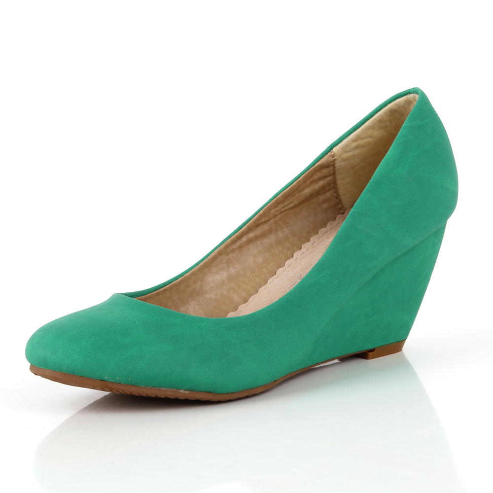 Damen Pumps Klassische Pumps - Oliv