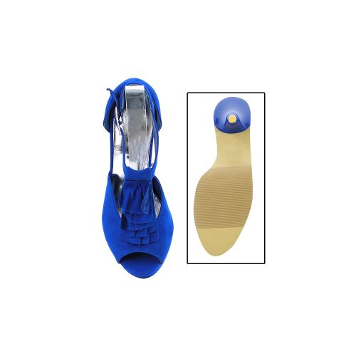 Damen Plateau Pumps - Blau