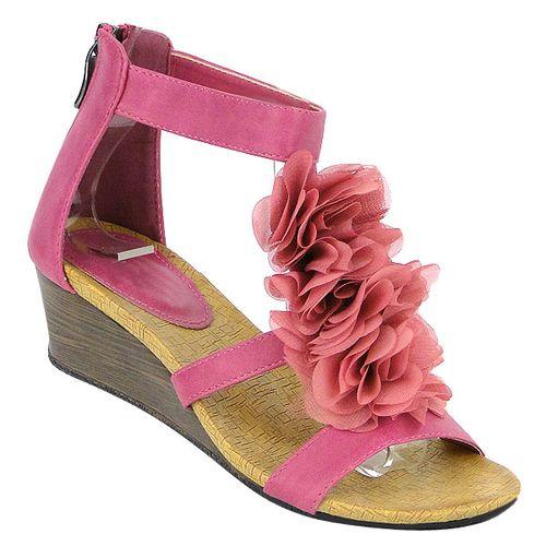 Damen Pumps Ankle Boots - Fuchsia