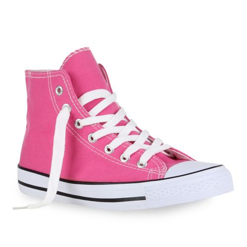 Damen Sneaker high - Pink